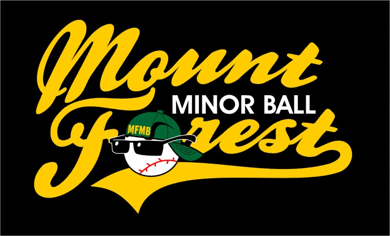 Logo for Mount Forest Minor Baseball